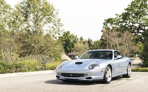 Картинка Ferrari, 550, Silver