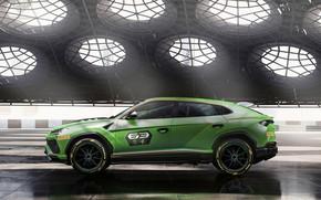 Картинка Concept, Lamborghini, вид сбоку, Urus, 2019, ST-X