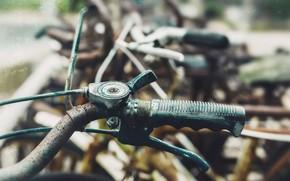 Картинка велосипед, фон, руль