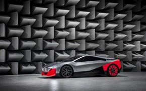 Картинка купе, BMW, 2019, Vision M NEXT Concept, звукопоглотители