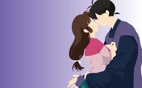 Картинка любовь, семья, двое, Инуяша, InuYasha