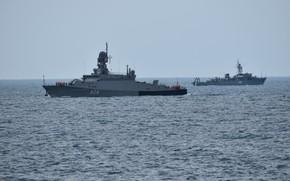 Картинка корабли, флот, Черное море