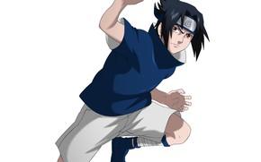 Картинка Наруто, Naruto, Саске Учиха