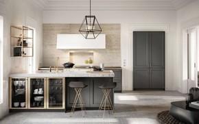 Картинка интерьер, кухня, luxury kitchen, SieMatic, Design of Timeless Elegance