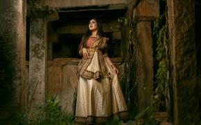 Картинка girl, fashion, model, pose, indian