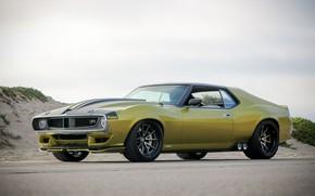 Картинка Колеса, Диски, Muscle car, 1972, Classic car, Sports car, AMC, AMC Javelin, By RingBrothers, AMX …
