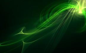 Картинка узор, лента, зелёный