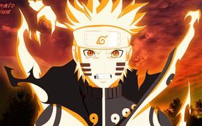 Картинка сила, парень, Naruto, Наруто Узумаки
