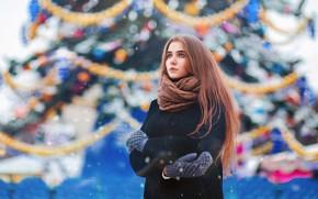 Картинка снег, шарф, прелесть, Дмитрий Стенько