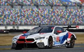 Картинка гоночное авто, 2018, автоспорт, GTE, BMW M8