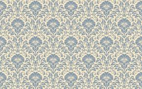 Картинка цветы, узор, орнамент, style, винтаж, ornament, seamless, victorian