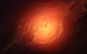 Картинка Звезды, Глаз, Космос, Туманность, Fantasy, Planets, Арт, Stars, Space, Art, Фантастика, Nebula, StarkitecktDesigns, by StarkitecktDesigns, ...
