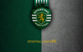 Картинка wallpaper, sport, logo, football, Primeira, Sporting Lisbon