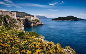 Картинка море, Хорватия, Дубровник