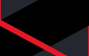 Картинка линии, красный, полосы, серый, чёрный, грани, red, black, lines, edge, fon, gray