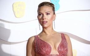 Картинка взгляд, поза, макияж, актриса, Scarlett Johansson, певица, Скарлетт Йоханссон, hair