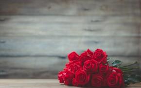 Картинка розы, букет, красные, Kidsada Manchinda