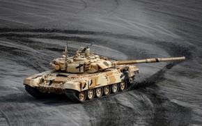 Картинка полигон, Т-90С, Российский боевой танк