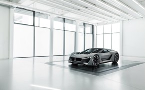 Картинка Audi, Ауди, концепт, помещение, PB18 e-tron