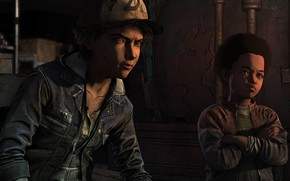 Картинка Clementine, The Walking Dead The Final Season, AJ, Alvin Junior