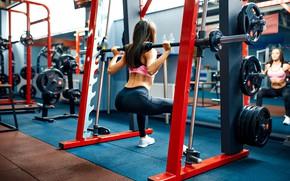 Картинка legs, female, workout, fitness