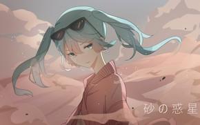 Картинка девушка, Hatsune Miku, Vocaloid, Вокалоид, Хатсуне Мику