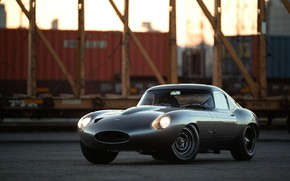 Картинка Jaguar E-Type, Купе, Спортивный автомобиль