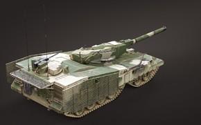 Картинка СССР, Объект 490, Опытный танк