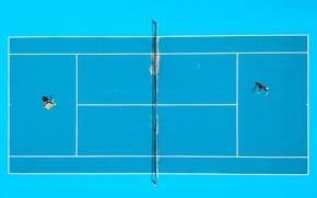 Картинка игра, теннис, корт