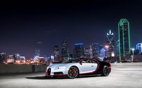 Картинка Bugatti, Light, Evening, 16.4, VAG, Sight, Chiron
