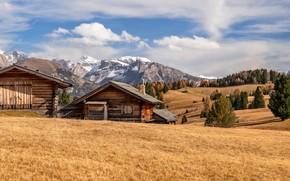 Картинка Italy, autumn, Dolomite Alps, Südtirol