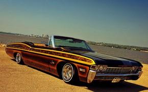 Картинка Impala, Lowrider, Custom, Low, 1968 Year