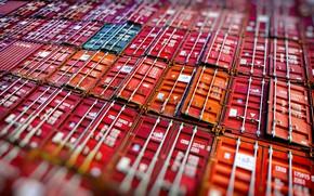 Картинка Фон, Груз, Контейнера, Контейнер, Container, 40 ft, 20 ft