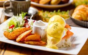Картинка еда, сыр, блюдо, картофель