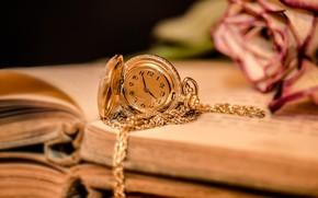 Картинка стиль, золото, Часы, цепочка