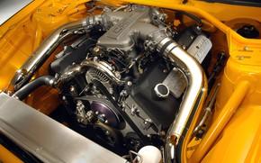 Картинка Concept, двигатель, Mustang, Ford, GT-R, 2004