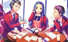 Картинка ученики, Youkoso Jitsuryoku Shijou Shugi no Kyoushitsu e, Добро пожаловать в класс превосходства