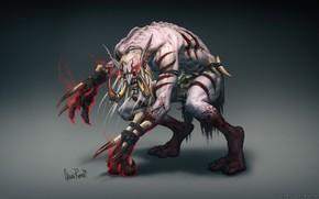 Картинка World of Warcraft, Warcraft, Blizzard, Art, Concept Art, Troll, Characters, Trolls, Glenn Rane, Game Art, …