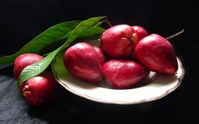 Картинка еда, фрукт, Малайское яблоко