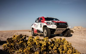Картинка Toyota, пикап, Hilux, 2019, Gazoo Racing