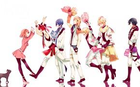 Картинка девушка, группа, парни, поющий принц, Uta no Prince-sama