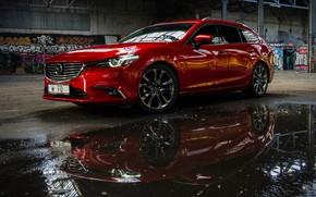 Картинка Mazda 6, универсал, Мазда 6