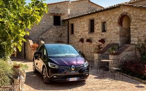 Картинка солнце, Renault, Scenic Initiale