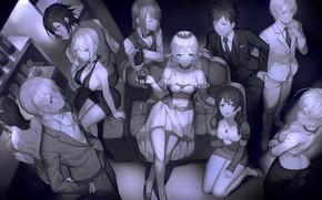 Картинка девушки, Аниме, парни, yykuaixian, повара, shokugeki no soma, nakiri alice, tadokoro megumi, nakiri erina, ари, …