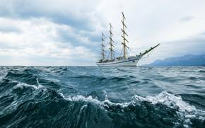 Картинка корабль, парусный, херсонес