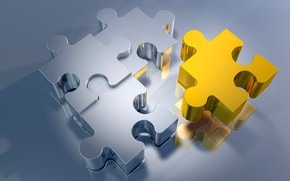 Обои пазлы, puzzle, фрагменты, головоломка