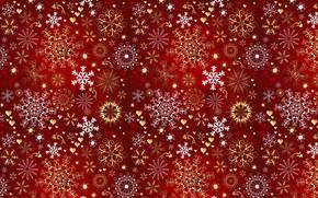 Картинка снежинки, настроение, праздник, новый год, текстура, звёздочка