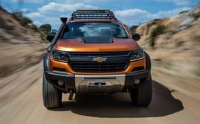 Картинка Chevrolet, перед, пикап, 4x4, Colorado, Z71, 2016, Xtreme Concept