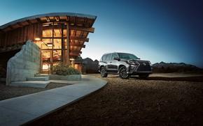 Картинка машины, серый, Lexus, Лексус, внедорожник, 2020, Lexus GX 460, Lexus GX, Lexus 2020 GX 460