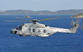 Картинка Вертолет, Airbus, NH90, ВМС Франции, Airbus Helicopters, Marine Nationale, Eurocopter Group, NH90 NFH